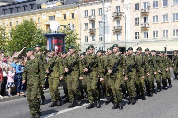 Artėjame prie visuotinio šaukimo į kariuomenę