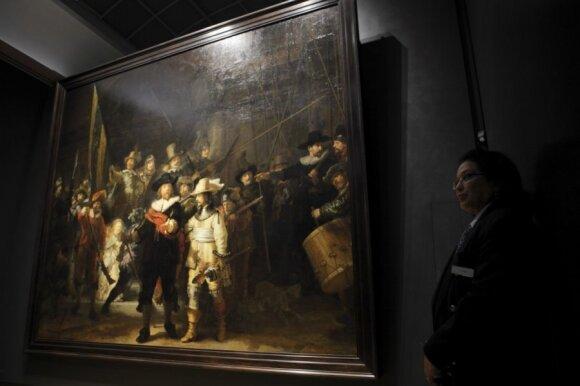 Rembrantas Amsterdame
