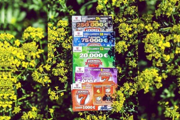 """""""Sėkmės 7"""" momentinė loterija"""