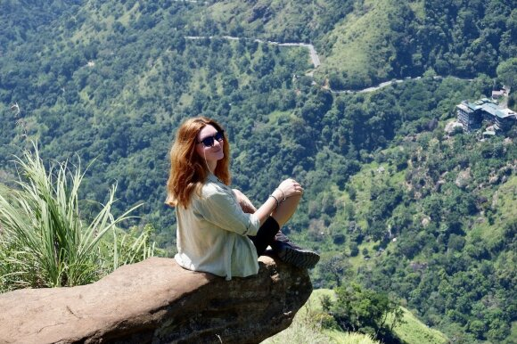 Monika Auksutytė Šri Lankoje