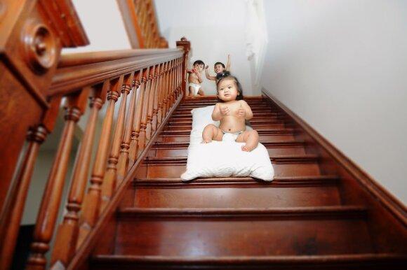Kas nutinka, kai aukle tampa žmogus, pats neturintis vaikų