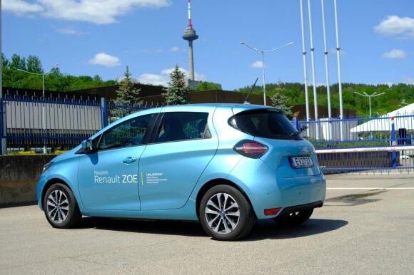 """Naujasis """"Renault Zoe"""""""
