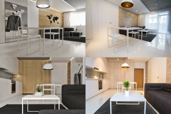 Tuščią butą dizaineris pavertė šviesia oaze: interjerą sukūrė už 14 tūkst. eurų