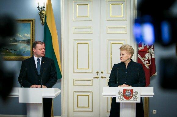 Tarp Grybauskaitės ir Skvernelio iškastas karo kirvis – tik pradžia: netrukus išgirsime dar daug naujo