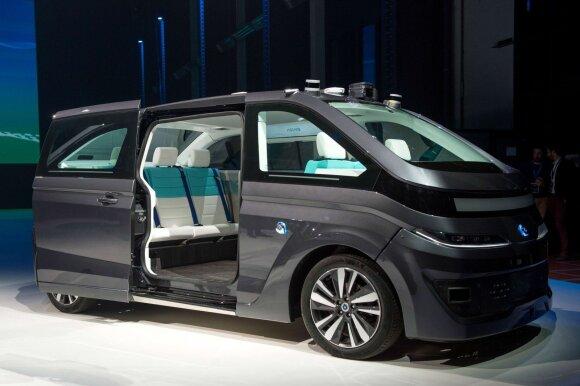 """Autonomiškas autobusiukas """"Navya"""""""