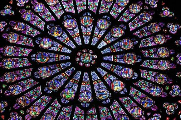 Paryžiaus Švč. Dievo Motinos katedros rozetė