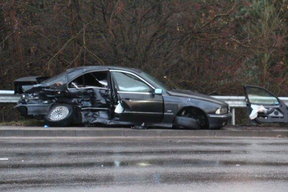 Klaipėdoje per avariją žuvo BMW vairuotojas