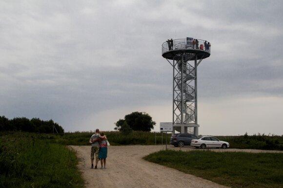 Apžvalgos bokštas Drevernoje 2015 m.