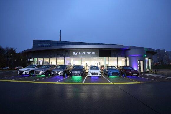 """""""Hyundai"""" atstovybė"""
