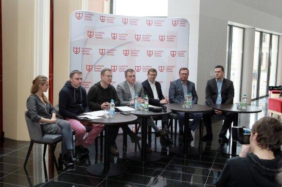 Festivalio spaudos konferencija