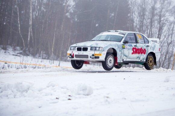 """""""Winter Rally"""" varžybos"""