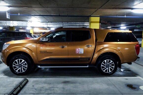 """Nissan Navara"" parkavimo ypatumai"