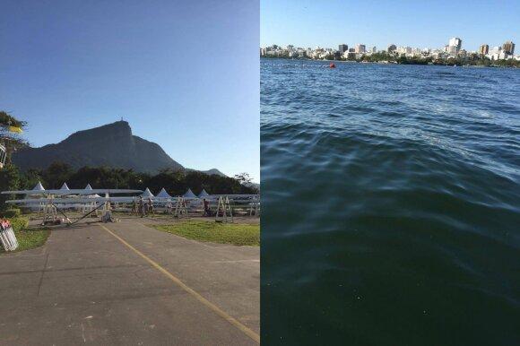 Rio de Žaneiras rengiasi olimpinėms žaidynėms