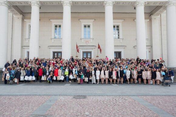 Laukiamiausią būsimų mamų šventę šiemet ves Lina Rastokaitė