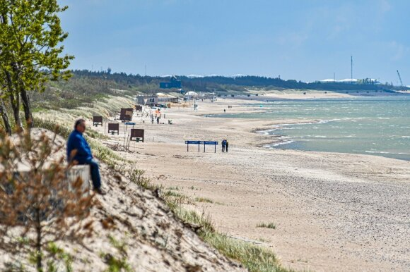 """Girulių paplūdimys // """"WeLoveLithuania"""" nuotr."""