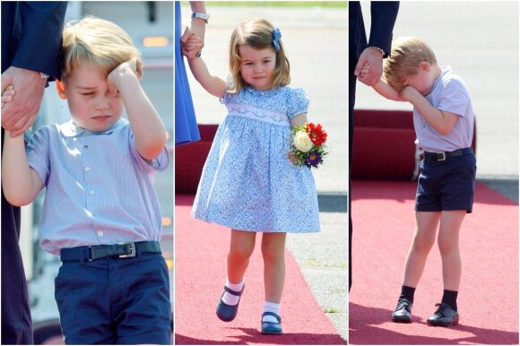 Žinia apie trečiąjį K. Middleton ir princo Williamo kūdikį supykdė britus