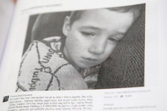 Sukūrė graudžią istoriją apie sergantį vaiką: išsisukti nepavyko