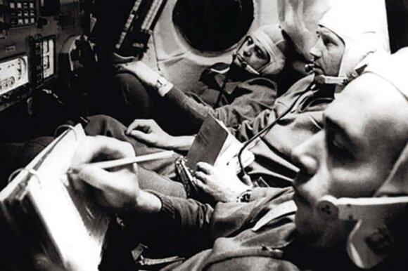 """Išskrido ir negrįžo. Kaip žuvo sovietų kosmonautai, pilotavę palydovą """"Sojuz 11"""""""