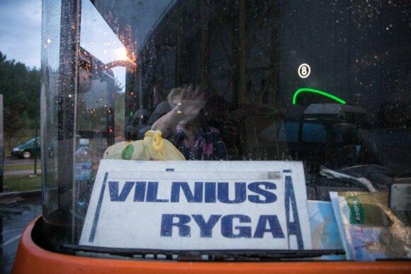 Autobusas Vilnius–Ryga