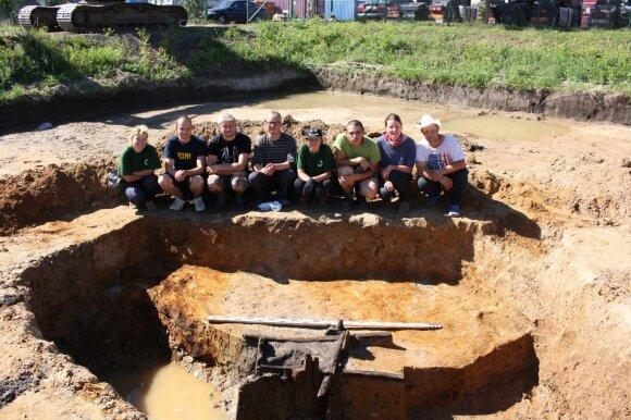 KU archeologų praktika