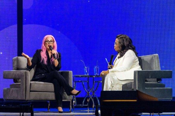 Lady Gaga ir Oprah Winfrey