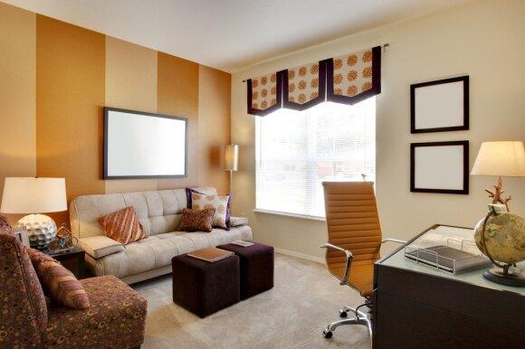 Kaip mažą kambarį paversti didesniu