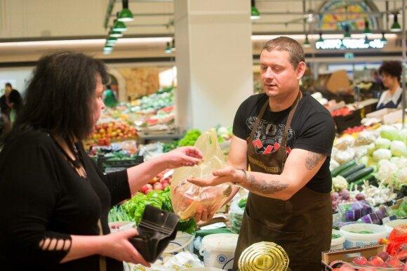 Darbą Ispanijoje iškeitė į prekybą Kauno turguje