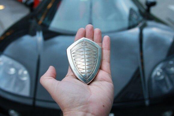 """Koenigsegg Agera"" raktelis"