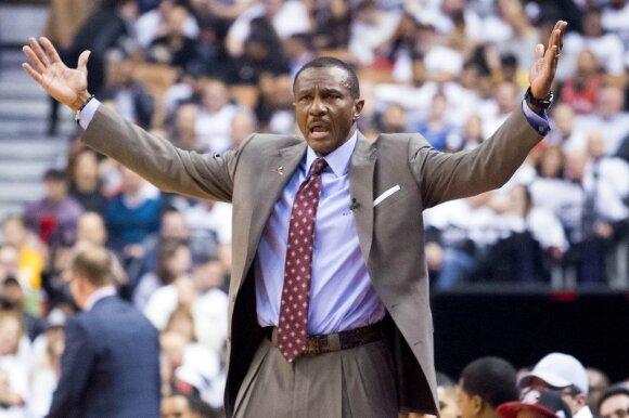 NBA: penktasis Raptors ir Wizards mūšis