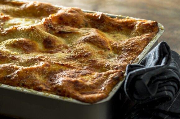 Sotūs itališki pietūs pagal Gian Luca Demarco: išdavė savo mamos lazanijos receptą
