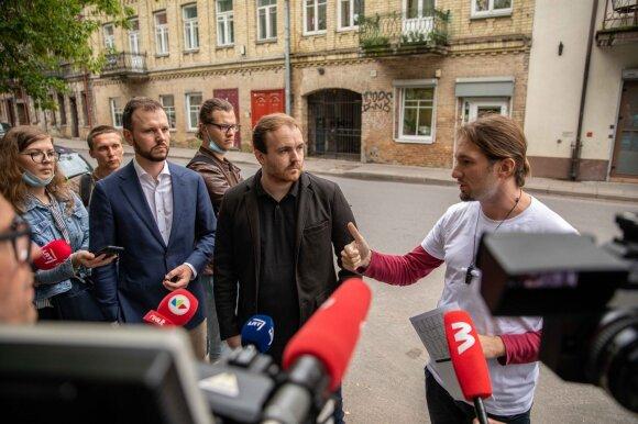 Simonas Runzheimeris ir Vukas Vukotičius