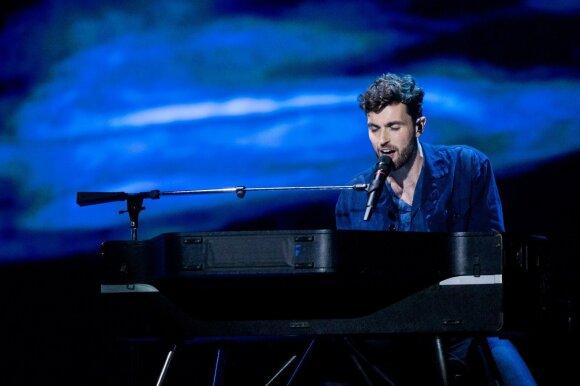 Eurovizijos finalas. Olandija: Duncanas Laurence – Arcade
