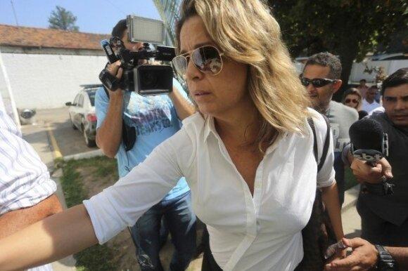Nužudyto Graikijos ambasadoriaus žmona Francoise Amiridis