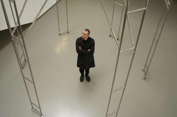Lietuvos erdvės agentūros įkūrėjas menininkas Julijonas Urbonas