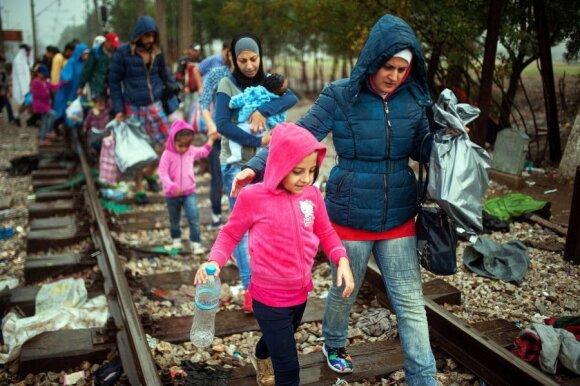 Migrantų krizė: Vokietija atnaujina sienų kontrolę