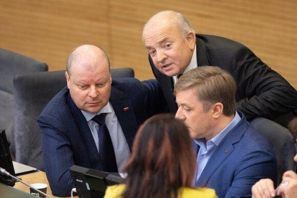 Valdančiųjų apgavyste apkaltintas Bartkevičius: viską paaiškinau Karbauskiui