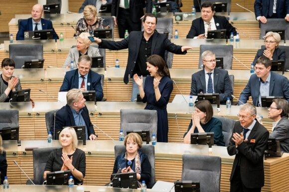 Tėvynės sąjungos-Lietuvos krikščionių demokratų frakcija