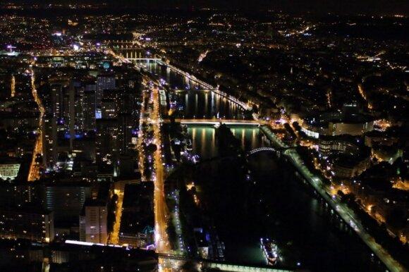 Paryžiaus dienos ir naktys - impresionisto teptuko verti vaizdai