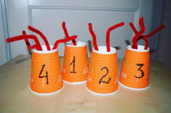 Teo ir Ieva pristato: žaismingi būdai pažinti skaičius patiems mažiausiems