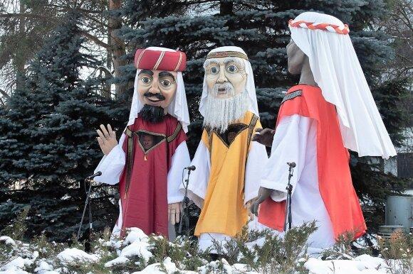 Trijų Karalių šventė Panevėžyje