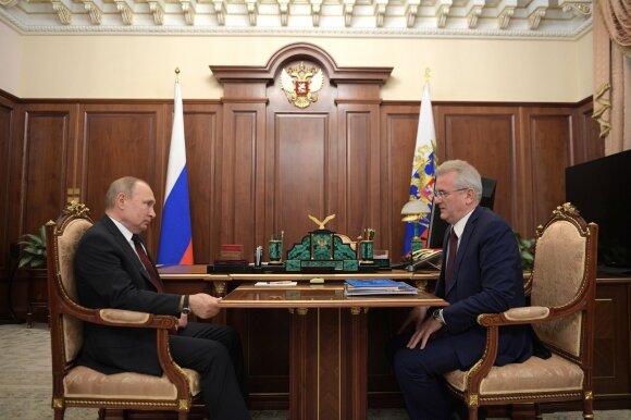 Vladimiras Putinas ir Ivanas Belozercevas