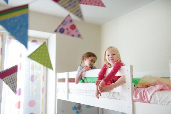 2 kambarių butas: kaip tinkamai išdėlioti baldus, kad vietos užtektų visiems šeimos nariams