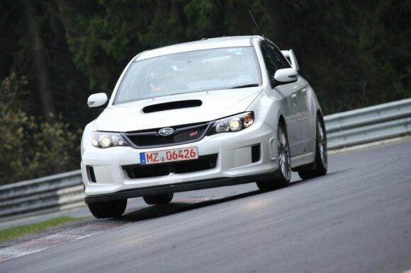 Subaru WRX STI Nürburgringo trasoje