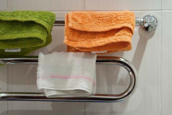 Džiūstantys skalbiniai veikia kaip oro drėkintuvas