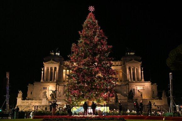 Kalėdų eglė Romoje