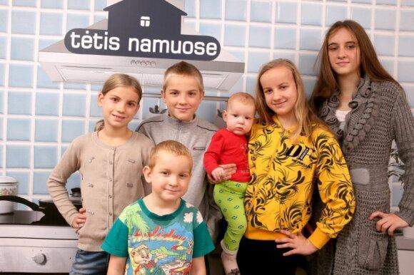 Antonovų šeima: 10 nėštumų, 3 persileidimai ir 1 mirtis