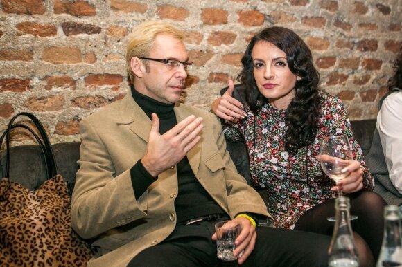 Aras Vėberis su Martyna Kerbedyte