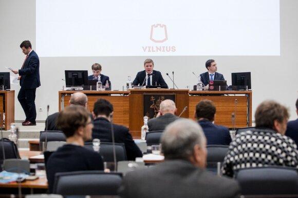 Vilniaus miesto savivaldybės tarybos posėdis