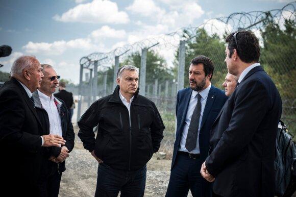 Viktoras Orbanas, Matteo Salvini