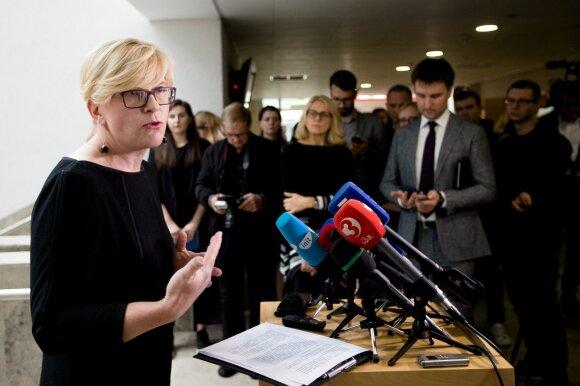 Ingrida Šimonytė announces her presidential bid
